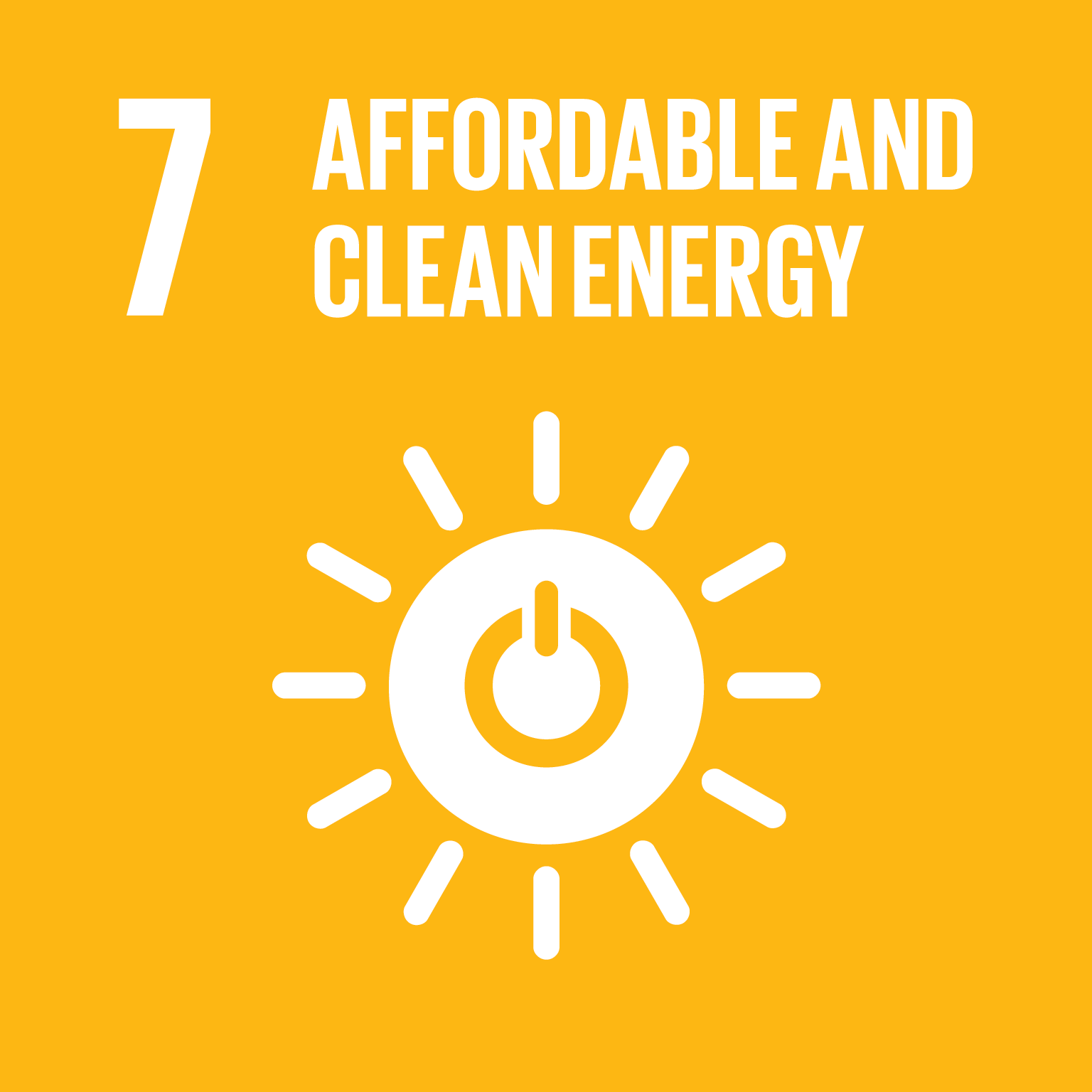 Affordable and clean energy - Sustainable Development Goals